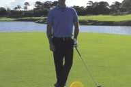 How to hit into the wind with Teaching Professional Charles Kares